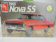 1:25 AMT 1966 Chevrolet NOVA SS *2 in 1* Plastic Model Kit *MISB*