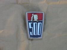 1957 1958 Dodge D500 NOS MoPar Quarter PNL Trunk EMBLEM