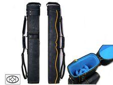 Delta 2x5 Yellow HUSTLER Case - Memory Foam - JB-NO Case - Leather Cue Case