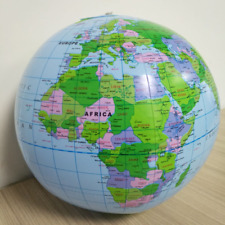 Kids Toys Inflatable Globe World Earth Ocean Map Ball Learning Educational Toys