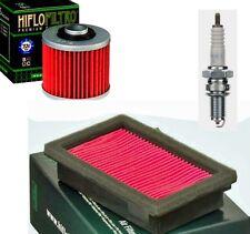 Yamaha mt03 660 mt 03 todos los filtros de aire filtro aceite bujía NGK conjunto de kit de mantenimiento