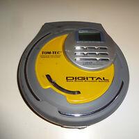 Tom-Tec Compact Disc Player CDP2100-60 Discman