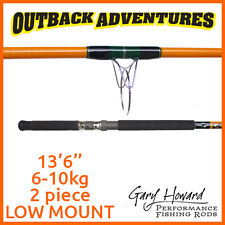 GARY HOWARD GREENBACK FISHING ROD 13'6'' 6-10KG 2PIECE - LOW MOUNT