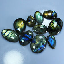 505.00Cts. Real Spectrolite LABRADORITE Mix Cabochon Handmade Gemstone In INDIA