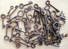 Rusty ornate Skeleton 1800's keys Steampunk 50 pc assortment