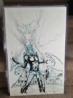 Ghost Rider Original Art Page by Riley Rossmo 11x17 Cover Quality Beautiful Art