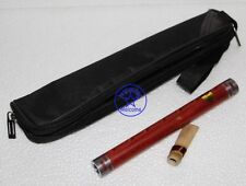Professional yanjing New Red wood folk musical instruments Small F key Guanzi