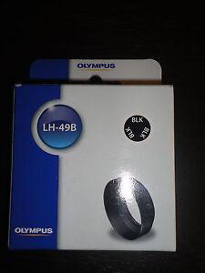 Genuine Olympus LH-49B Lens Hood for Zuiko 25mm f/1.8 Black Lens