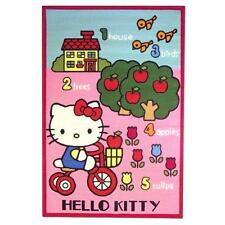 Tapis Fantaisie Ludique Orange Hello Kitty 100 x 150 cm Neuf