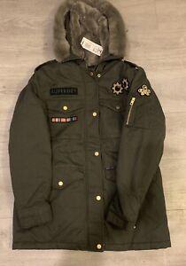 Superdry Rookie Rock Royalty Parka Jacket Uk Size 12