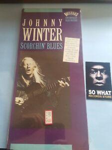 JOHNNY WINTER - SCORCHIN' BLUES. LONG BOX CD NEW SEALED