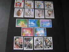 Great Britain Stamp 4 Sets from 1987 Never Hinged Unused Lot 14