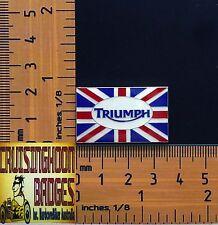 British Flag with Triumph Logo  Badge / Lapel Pin