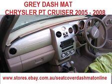 DASH MAT, BLACK DASHMAT, DASHBOARD COVER FIT CHRYSLER PT CRUISER 2005-2008,