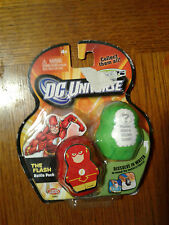 DC UNIVERSE SQUATS THE FLASH  DISOLVE IN WATER  FLASH AND MYSTERY VILLAIN RARE