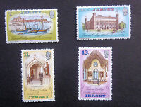JERSEY SG179/182 VICTORIA COLLEGE SET OF 4 STAMPS MNH