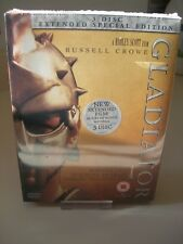 Gladiator 3 Disc DVD Extended Special Edition Box Set - New & Sealed