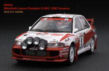 1:43 HPI DIECAST #8556 Mitsubishi Lancer Evolution III (#8) 1996 Sanremo