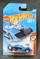 2018 Hot Wheels Car 116/365 Dodge Charger Daytona - E Case