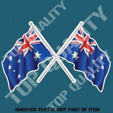 AUSTRALIA FLAGS DECAL STICKER FLAGS AUSTRALIANA PATRIOTIC AUSSIE DECALS STICKERS