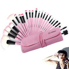 Fashion 24tlg Rosa Make up Pinsel Pro Kosmetik Brush Makeup Set Schminkpinsel