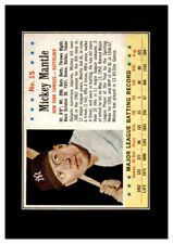 1963 Post Set Break # 15 Mickey Mantle VG-VGEX (wrinkle) *GMCARDS*