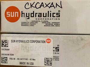 Lot of two! Sun Hydraulics Pressure Relief Cartridge Valve 9G63 217540 CKCAXAN