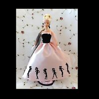 Barbie Vintage Doll 50's Dress Gown Timeless Silhouette Mattel New In Box NRFB