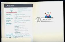 USA #3771 2003 80c Special Olympics Stamp First Day Ceremony Program