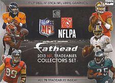 Fathead collectors set NFL 2013 JJ Watt Peyton Manning Tom Brady Dez Bryant
