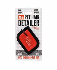 Lilly Brush Mini Pet Hair Detailer Dog Remover, Cat Classic Red