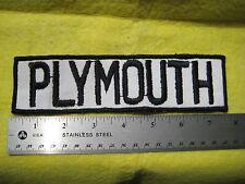 Vintage Large Plymouth Road Runner Service  Dealer Uniform Patch