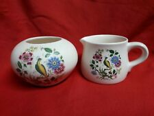 Purbeck Ceramics Swanage. sugar bowl and milk jug.