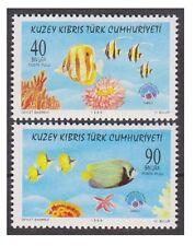 TURKISH REPUBLIC OF NORTHERN CYPRUS 1998, WORLD ENVIRONMENT DAY, FISH, MNH