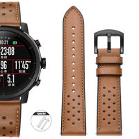 18 20 22mm Genuine Leather watch Strap For Fossil Wrist Band + Quick Release Pin