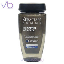 KERASTASE Homme Capital Force Anti-Dandruff Shampoo For Men 250ml, Treatment