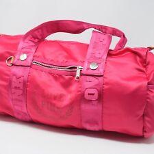 """Pink Victoria's Secret barrel duffel bag pink zip closure """"Love Pink"""""""