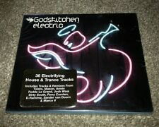 Godskitchen - Electric House,Trance (2x CD 2007) Various Artists New Sealed