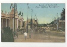 Exposition de Bruxelles 1910 Palais des Travaux Feminins Belgium Postcard Us086