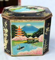 Vintage Parry's Sweet Confectionery Scenery Adv. Litho Tin Box