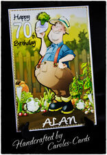 PERSONALISED BIRTHDAY CARD NAME/AGE ALLOTMENT/GARDENER/DAD/SON/BROTHER/MALE