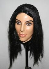 Deluxe Kim Kardashian overhead Máscara De Látex Disfraz de muñeca de fantasía Kardashians Hembra