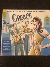 Greece: Music & Cuisine For Dinner With A Theme 2009 CD & Recipe Book NEW