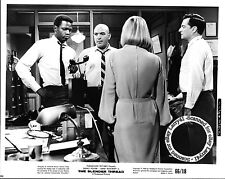 LOT of 5, Sidney Poitier, Anne Bancroft stills THE SLENDER THREAD (1966) Telly S