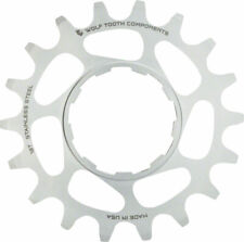 """Wolf Tooth Single Speed Stainless Steel Cog: 16T Compatiblewith 3/32"""" Chains"""
