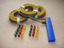 Anschluss+Verlängerungs-Set-Weichen-Signale für Märklin-Kabel-Stecker+Muffen