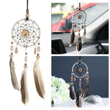 1pc Small Dream Catcher with Feathers Wall Hanging / Car - Native Indian