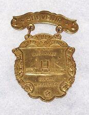 ULTRA-RARE 1904 ST. LOUIS WORLD'S FAIR USS NASHVILLE SOUVENIR BADGE (NO PIN)