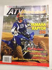 ATV Illustrated Magazine Yamaha Raptor 250 Arctic Cat December 2007 032717nonR