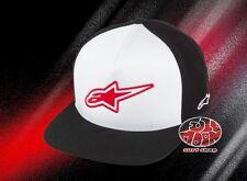 New AlpineStars Logistics Black & White Snapback Cap Hat